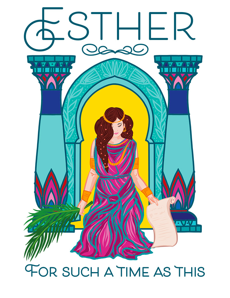 The story in song of Queen Esther in the Bible