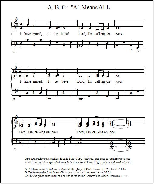 Christian music song lyrics for piano