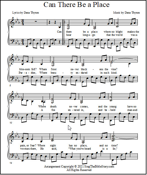 hymn music for piano
