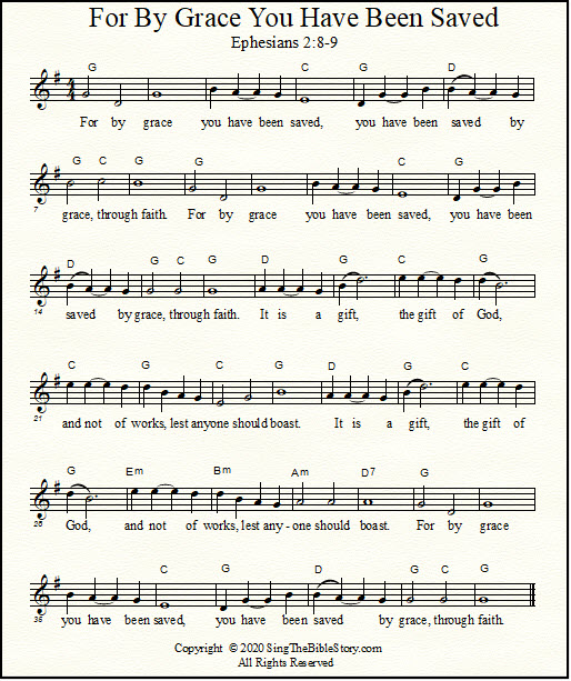Lead sheet with chords for